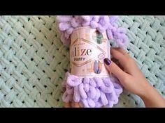 Finger Crochet, Finger Knitting, Arm Knitting, Crochet Home, Knit Crochet, Crochet Patron, Crochet Flower Tutorial, Blanket Yarn, Knitting Videos
