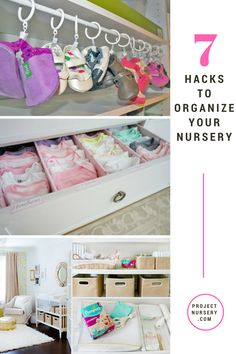 7 Nursery Organization Ideas - great ideas for baby's room thanks to @pampers! #PNpartner