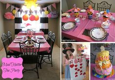 mad hatter party | Mad Hatter tea party
