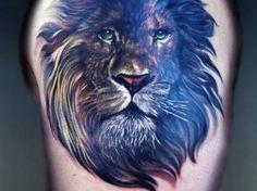 19 Lion tattoo