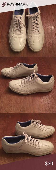 MENS ...Mark Nason Skechers with memory foam lux MENS ...Size 11 Mark Nason Skechers with memory foam Lux  in great shape only worn a few times color is a light beige khaki color. Skechers Shoes Sneakers