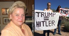 """Hitler Survivor: """"What reminds me more of Hitler than anything else isn't Trump, it's the destruction of freedom of speech on the college campuses — the agendas fueled by the professors. That's how Hitler started, he pulled in the youth to miseducate them, to brainwash them, it's happening today."""""""