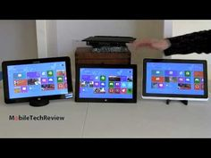 Lisa Gade compares the Microsoft Surface Pro with the Samsung ATIV Smart PC Pro 700T and the Acer Iconia W700 Windows 8 tablets.