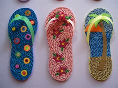 Flip Flops - Quilled Creations Quilling Gallery