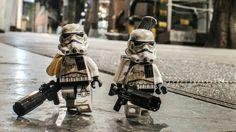 Lego Stormtroopers 'Night Patrol' by Jon San Pedro