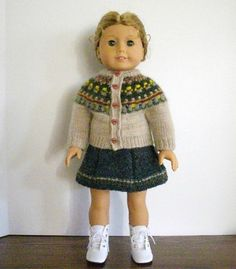 abc knitting patterns american girl doll evening dress