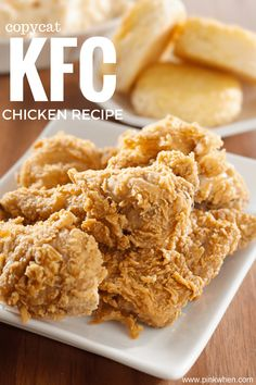 Learn the SECRET that makes this Copycat KFC Chicken Recipe better than all of the others. I will give you one big hint: It's not fried!