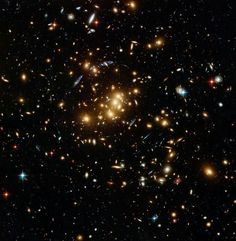 Giant cluster bends