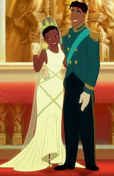 *TIANA & PRINCE NAVEEN / THE FROG ~ The Princess and the Frog, 2009
