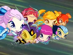 To the Rescue The Pixies are more than just pets, they're pals too! They're always ready to lend a helping wing to the Winx.