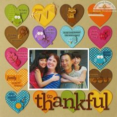 Doodlebug Design Inc Blog: So Thankful Layout.... What are you thankful for?