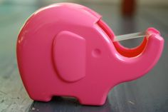 Love this elephant tape dispenser!
