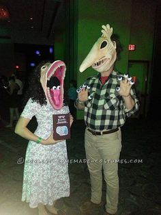 Contest-Winning Homemade Maitlands Couple Costume… Coolest Halloween Costume Contest