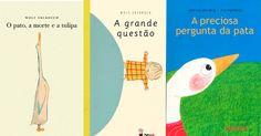 São livros lindos, que vão mexer com crianças e adultos, despertar novas perguntas, também encher o peito de saudade e emoção