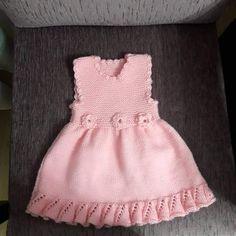 Volan Ve Çiçek Süslemeli Çocuk Jilesi / Elbisesi Yapımı. 2 .3 yaş » By hatice3