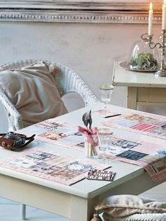 DIY-Anleitung: Tischläufer mit passendem Platzset nähen via DaWanda.com