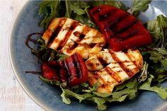 Grilled Halloumi & Watermelon Salad