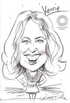 How To #Draw #Caricatures Quickly and Easily! Easy Step By Step Video Guide 7 Day Home Learning Course  Fun #Video #Lessons To Follow 30 year veteran artist, Mr Graeme Biddle.