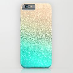 GOLD AQUA iPhone & iPod Case by Monika Strigel by Monika Strigel $35.00