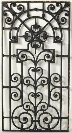 40 Newest Iron Gate Wall Decor Wrought Iron Wall Art, Iron Wall Decor, Wrought Iron Gates, Metal Garden Gates, Window Grill Design, Iron Windows, House Of Turquoise, Steel Art, Iron Art