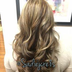 Fall blonde hair by Sadie