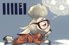Counting Sheep (unknown artist)