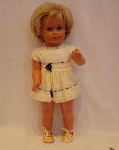 1 of 9: Niedliche Schildkröt Puppe 40 cm > 60er Jahre