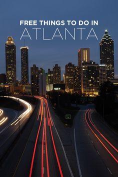 Your Ultimate Guide of Free Things to Do in Atlanta Georgia USA // localadventurer.com