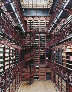 Library of the Moment: the Netherlands' simply-named Old Library. I would never leave!
