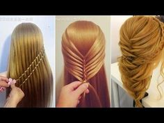 Hair Tutorial: How to do quick & easy hairstyles, Hairstyles For everyday.The most beautiful Hairstyles Tut. Quick Braided Hairstyles, Cool Hairstyles For Girls, Top Hairstyles, Pretty Hairstyles, Amazing Hairstyles, Stylish Hairstyles, Newest Hairstyles, Teenage Hairstyles, Easy Hairstyle