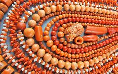 goodoldbeads Collection Of Old Coral Beads