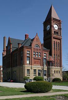 Jefferson County, Iowa Courthouse Fairfield IA
