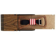 """Wooden Bow Tie """" Oak - Patriot """" Wooden Bow Tie, Bows, Accessories, Arches, Bowties, Bow, Jewelry Accessories"""