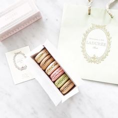 Macaroons  What flavor is your favorite? Mine is salted caramel and rose petal #theneautyissue #laduree