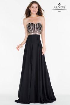 Alyce 6691, Size 8, $358