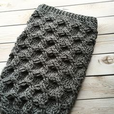 Ravelry: Chunky Chain Link Baby Cocoon or Swaddle Sack pattern by Crochet by…