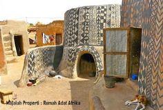 Desain Bentuk Rumah Adat Afrika dan Penjelasannya - Rumah dan Perumahan