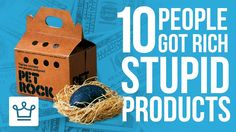 10 People Who Got #Rich From Stupid Products https://www.youtube.com/watch?v=wb45ZigmSx8