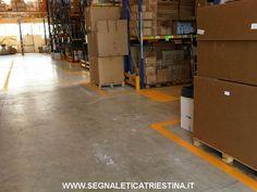 realizzazione segnaletica aziendale e di magazzino