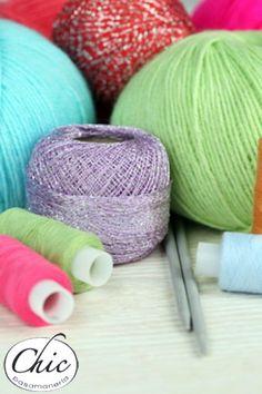 Encuentra todos los #hilos y #accesorios de #bordado en 1er.Piso #Pasamanería Chic