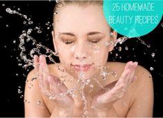 25 Homemade Beauty Recipes  #diy #beauty #spa #treatment #mask #facial #homemade #beauty #HomemadeBeautyRecipes
