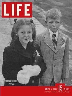 Original Life Magazine from April 7 - Old Life Magazines Vintage Comic Books, Vintage Comics, Vintage Magazines, Look Magazine, Magazine Ads, Magazine Covers, Life Cover, Second Child, History Facts