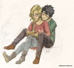 Percy Jackson and Annabeth Chase are just too cute <3