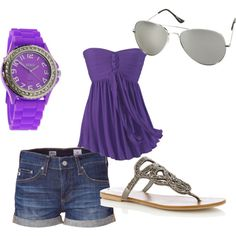 I love purple and I believe I have that watch thanks to my sisters :)
