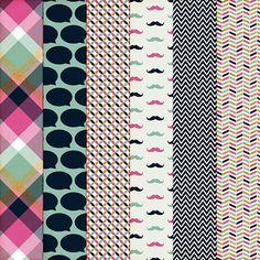 Free Printable Paper Pack from Harper Finch
