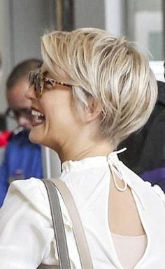 Cute cut. Julienne Hough