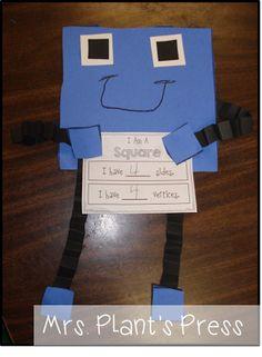 Shape guys for teaching shape attributes