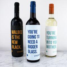 26 Honest Wine Labels