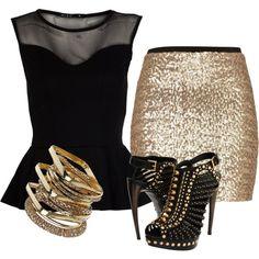 Gold. I got to for my Persian boyfriend ;)