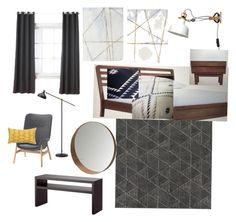 """Scandi Slumber"" by jennifer-266 on Polyvore featuring interior, interiors, interior design, home, home decor and interior decorating"